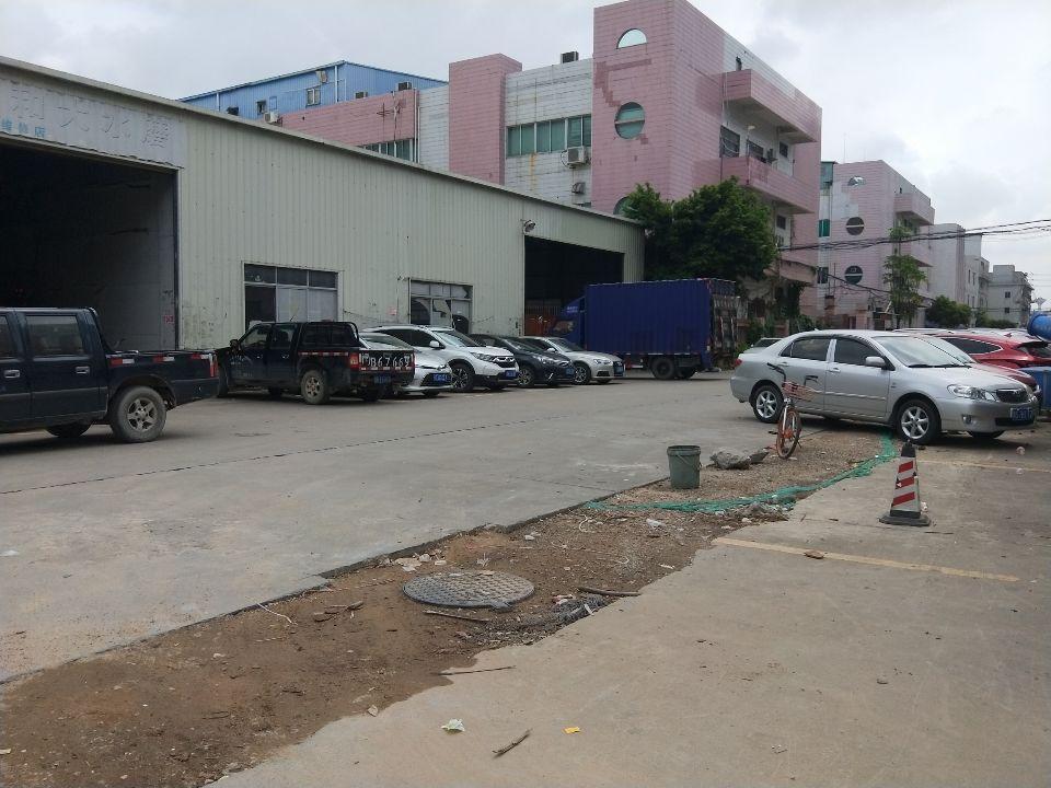 乌沙新出7米单一层钢构1300平可分租可做仓库