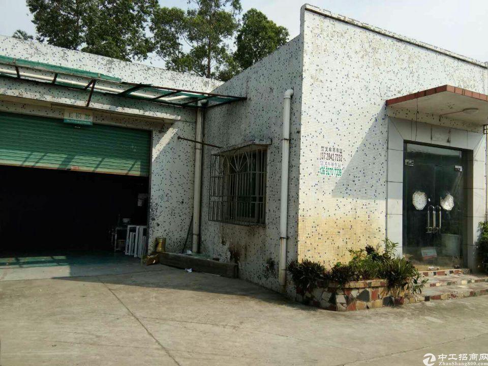 原房东厂房独院钢构厂房分租500平,面积实量,滴水7米