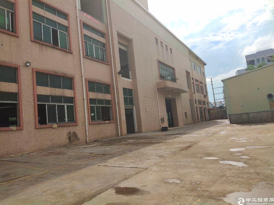 长安镇沿江高速附近新空出独院7000平重工业厂房