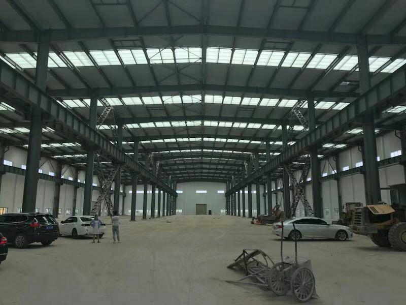 洪山厂房10096平米,高15米,配套宿舍食堂办公,可分租