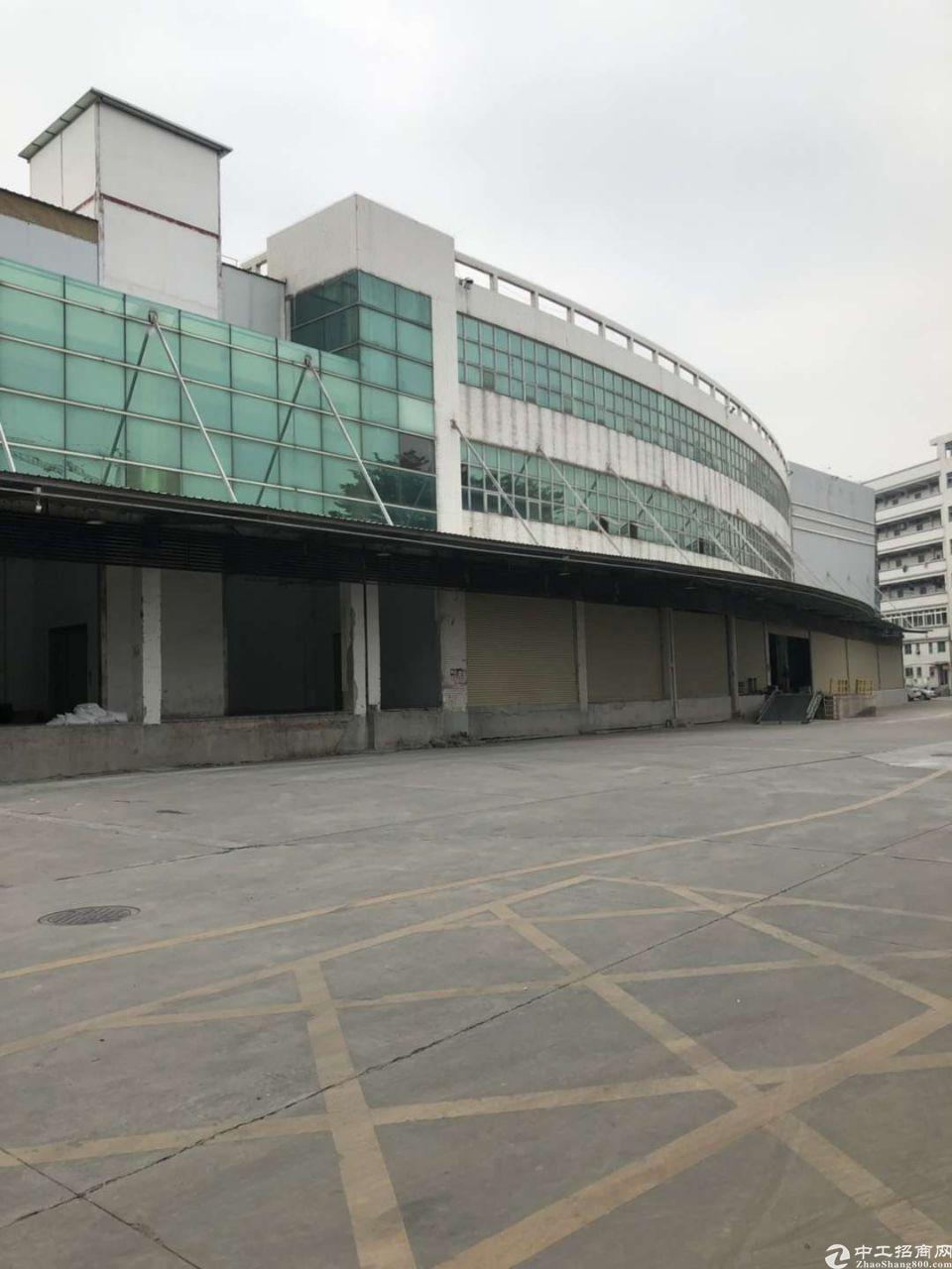 福永机场附近98000平米标准单层物流钢构仓库出租