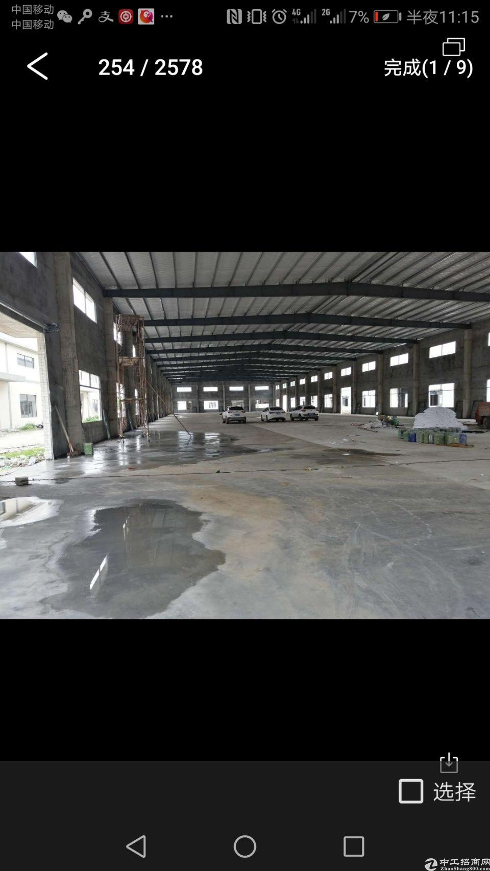 大亚湾战地3000,建筑2600钢构厂房售价260万。