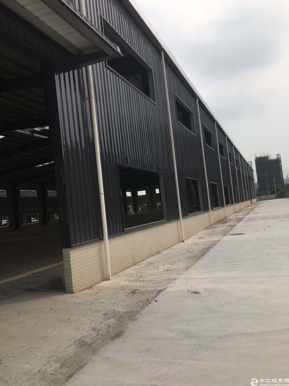 江高南岗工业区新出单一层钢结构独院厂房仓库出租