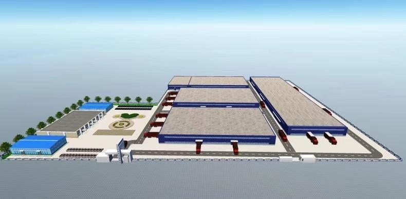 福永机场附近99000平米标准单层物流钢构仓库出租
