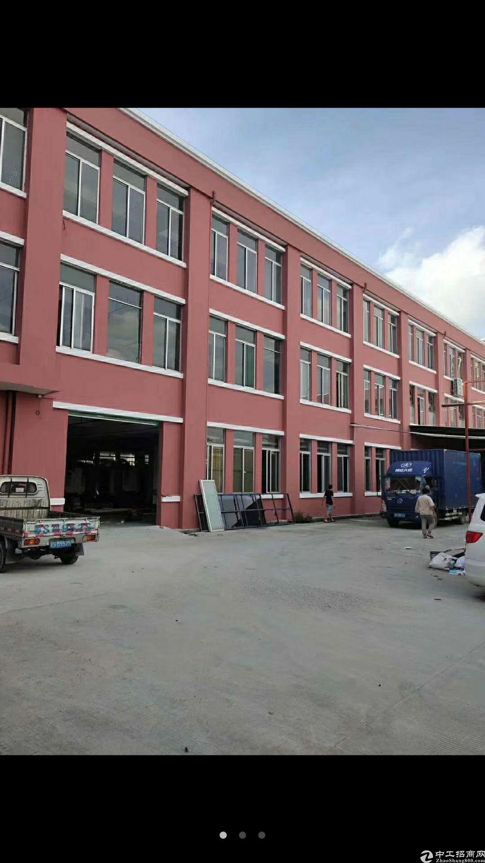 龙门县新出原房东标准厂房6000,证件齐全,可做电子