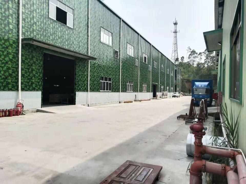 沥林高速出口9500平钢构厂房出售