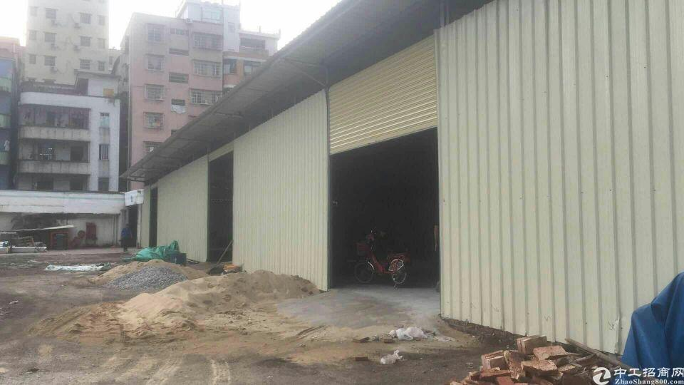 广州白云区石井街道单一层厂房仓库出租3200平
