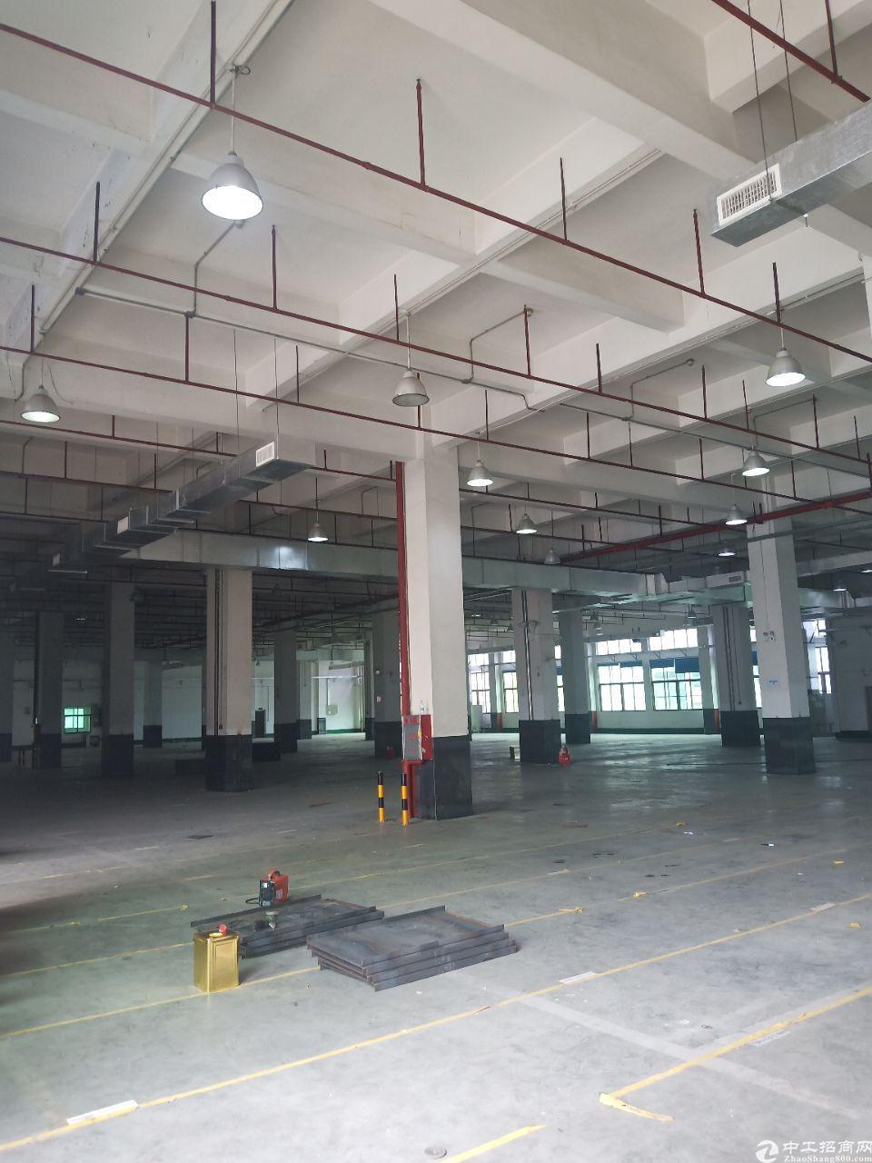东城新出物流仓库厂房1-4层,每层5600方,共计22400