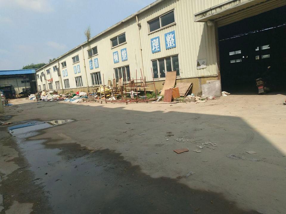 惠阳新圩镇原房东独院钢构厂房7030平方,现成办公室,可分租