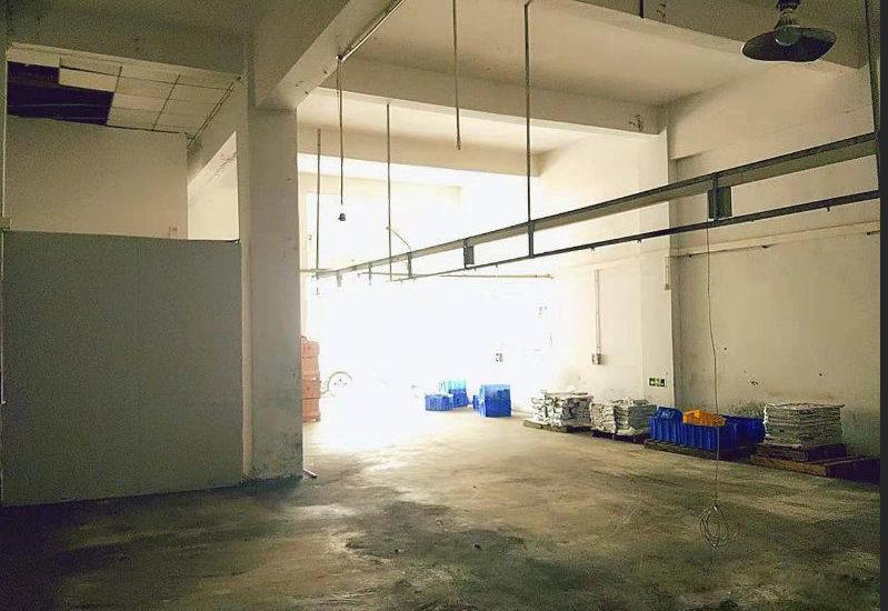 塘厦石鼓一楼240平厂房出租,公摊面积小,可做仓库小加工