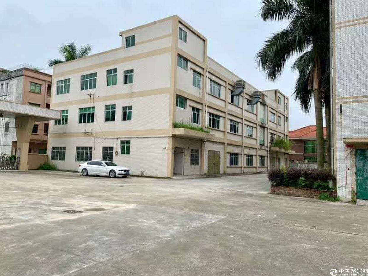 惠州博罗县占地105亩,建筑53313m²国有证厂房出售