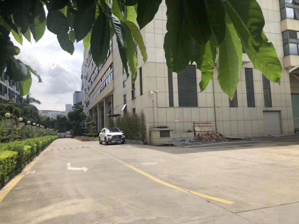 公明新出花园式厂房带地下停车场卸货平台