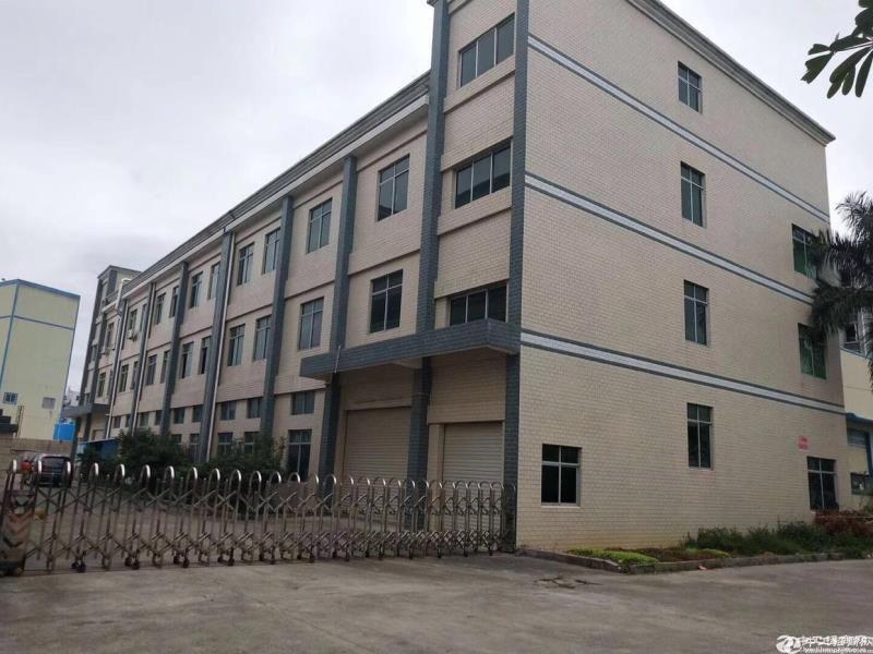 东莞塘厦稀缺小独院厂房占地3200平方成熟工业区内位置好
