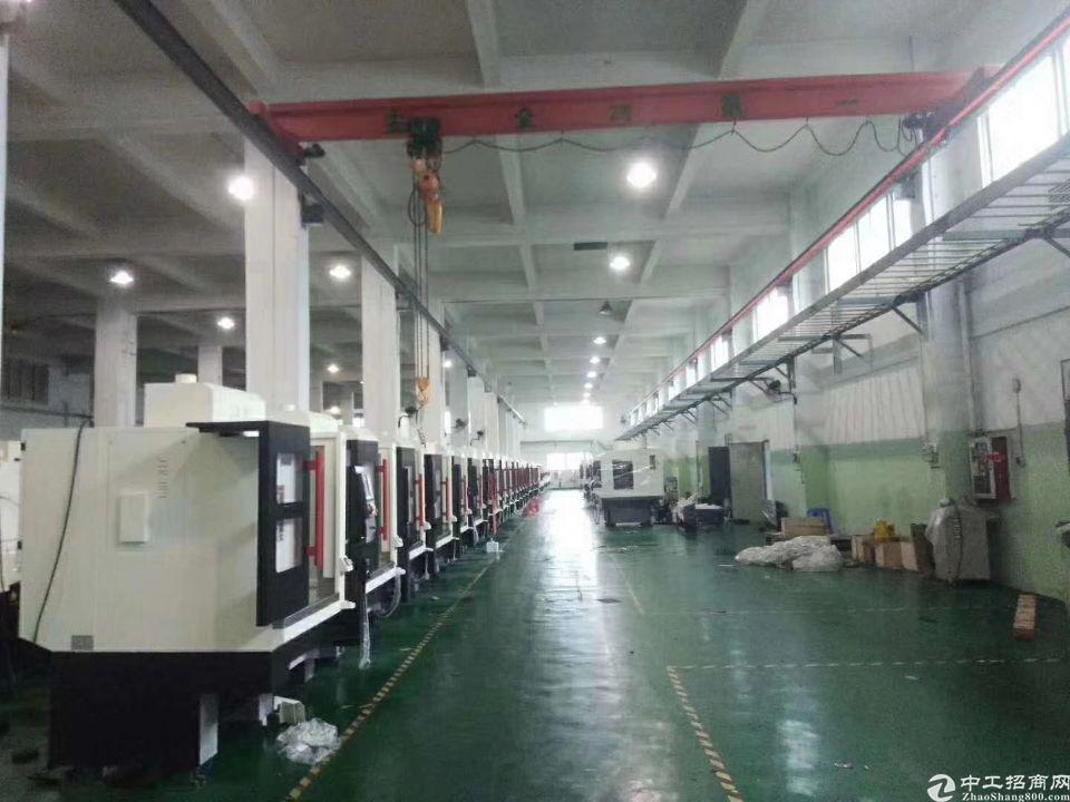 黄埔新出一楼带行吊标准厂房1800平,适用于各类生产加工
