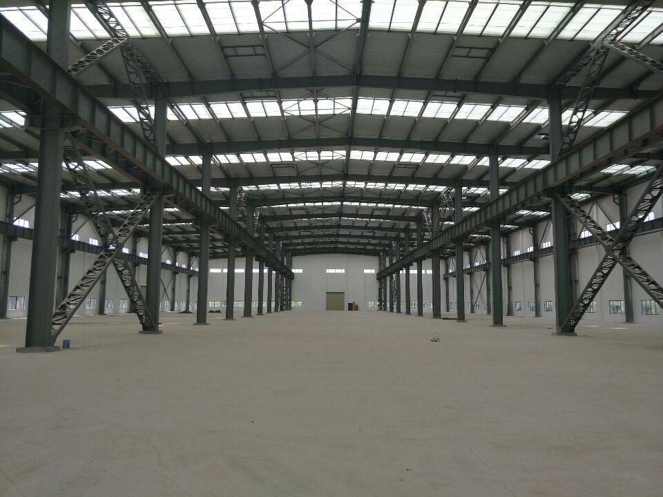 白沙洲厂房10096平米,带行车轨道。配套齐全。可分租。