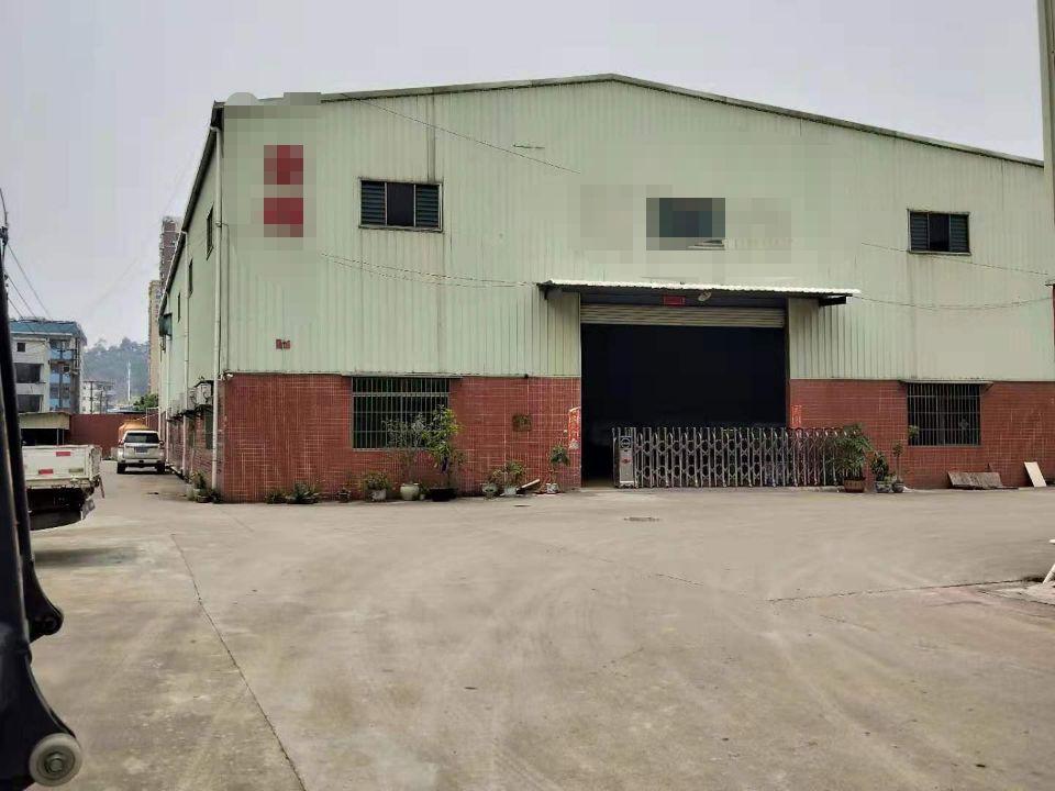 长安镇广深高速公路出口附近新出一楼豪华装修钢构厂房一栋