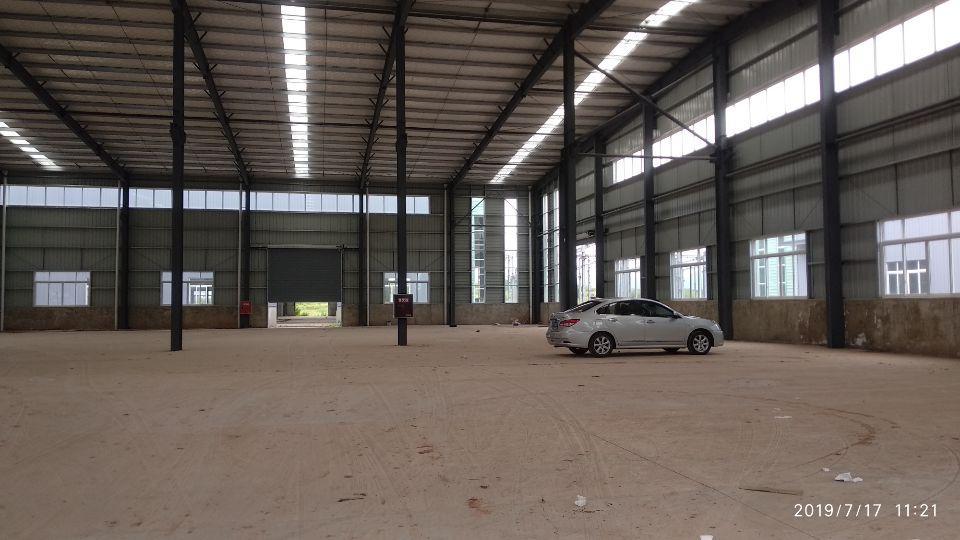 工业厂房出租4600平米标准钢结构厂房物美价廉欢迎来