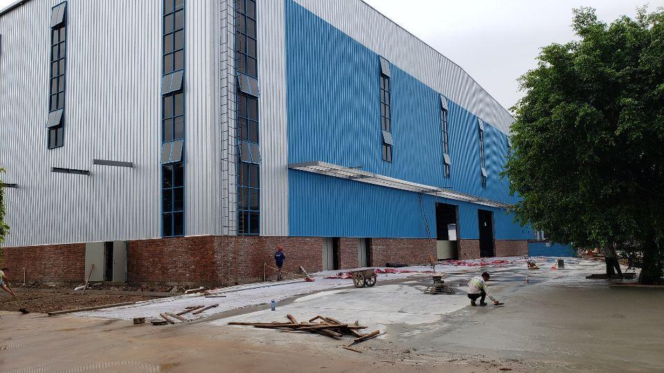 厚街高速口全新厂房1-3层20500平方出租可分租