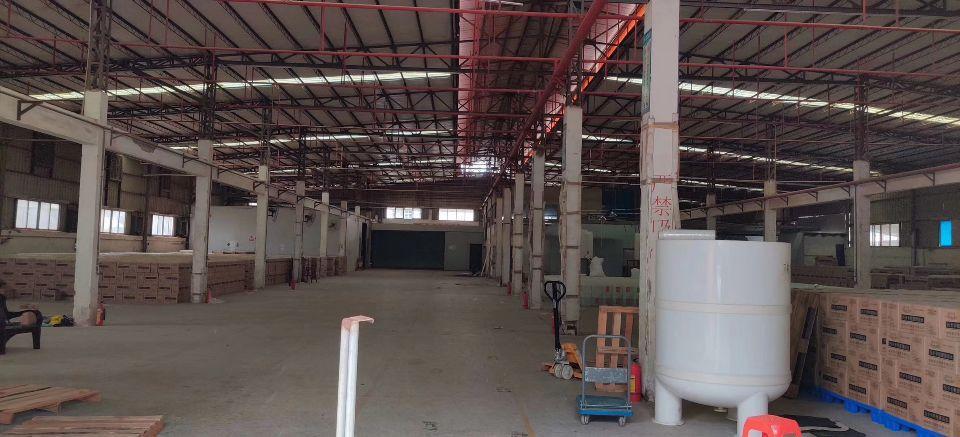 厚街镇赤岭村靠近南城新出单一层七米搞钢构厂房3380平