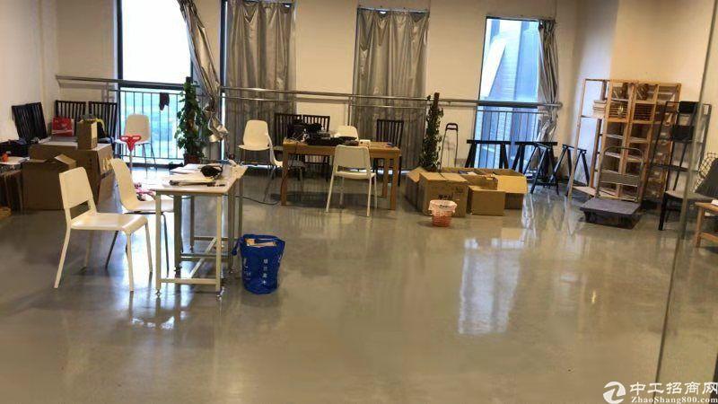 公明田寮高新区新出楼上2400平方带装修厂房出租-图4