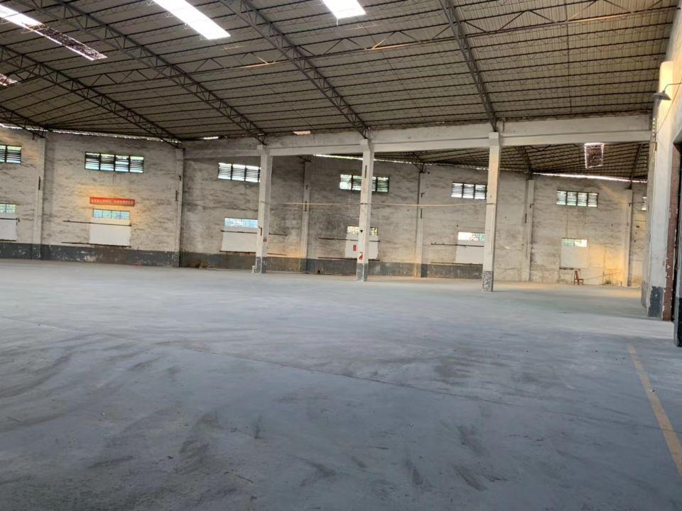 陈江镇新出大马路边上钢构厂,适合做五金,仓库等可以办环评