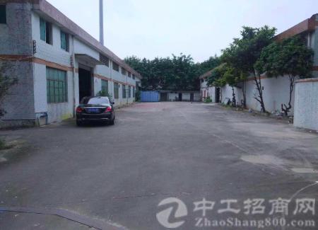 花都新华工业园9米高独栋单一层3200平厂房出租可分租