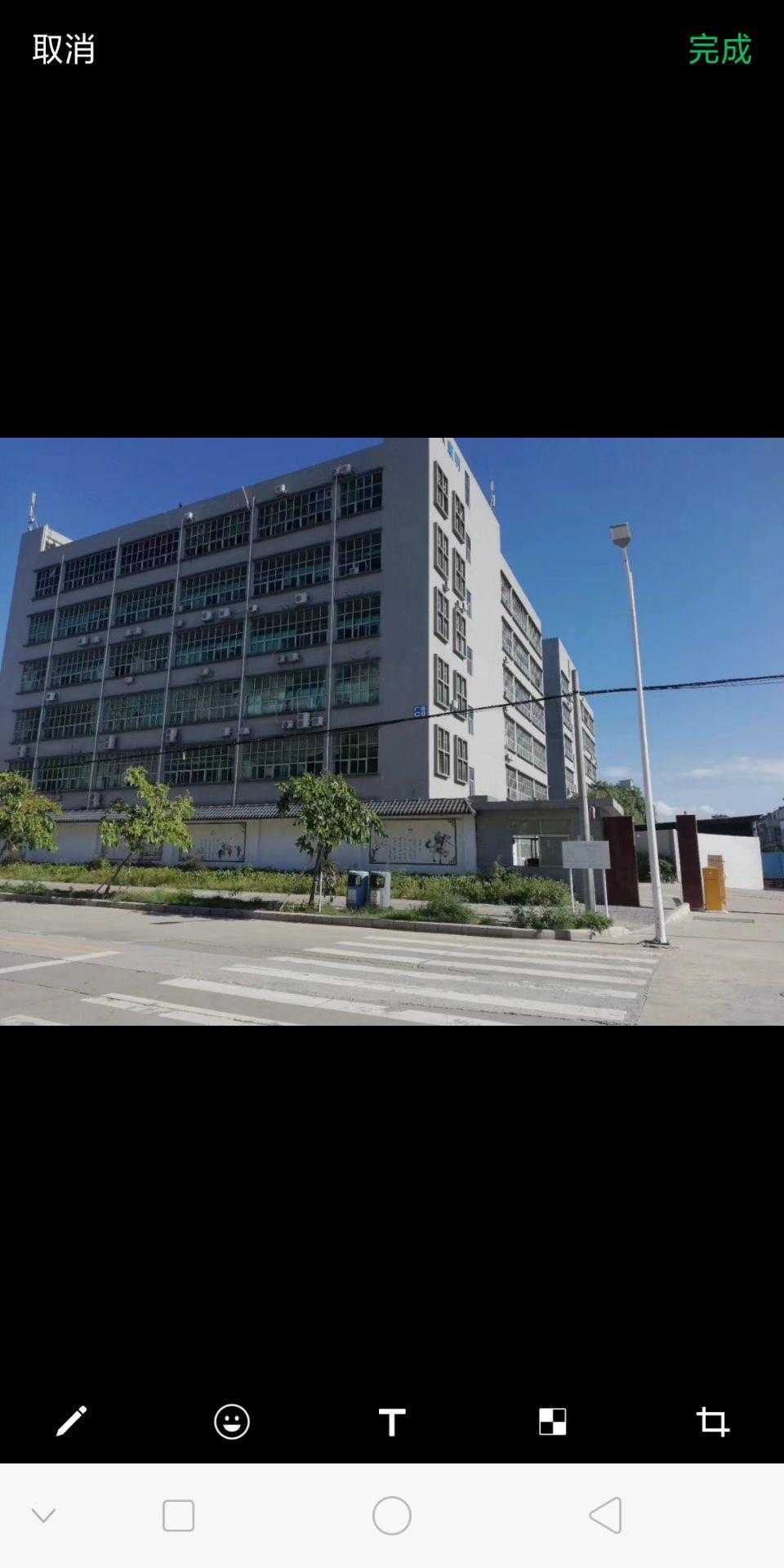 红本厂房实际面积出租35元一平方。厂房1-5层,单层面积16