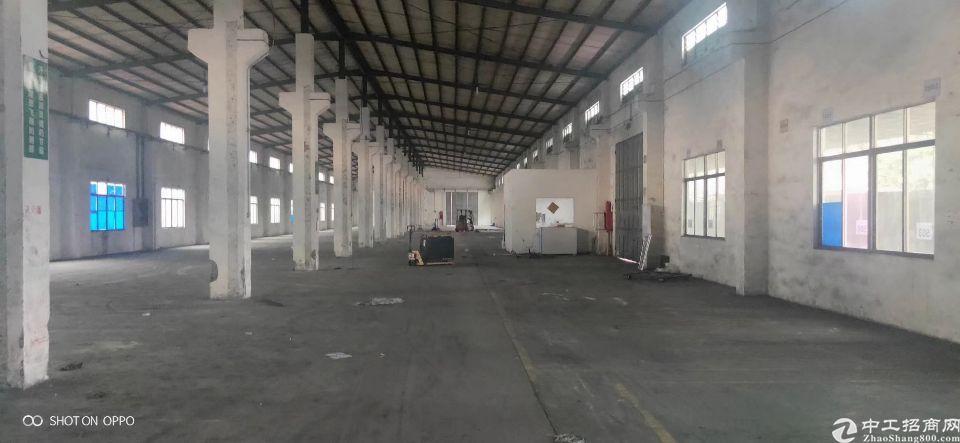 带牛角位单一层厂房出租车间面积2600平米