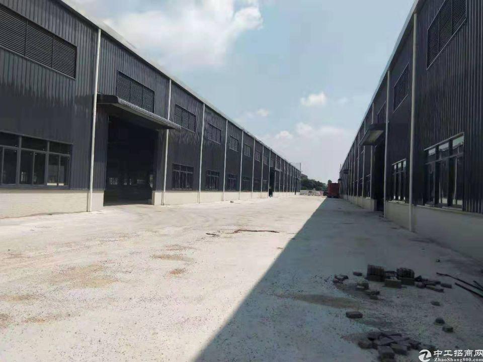 佛山南海区工业区独院全新钢结构仓库厂房出租,证件齐全