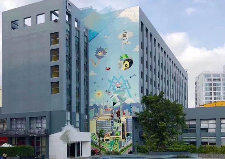 坂田新出独栋办工楼3250每层图片3