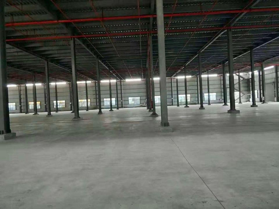 新出仓库厂房单一层12米高70000平方,证件齐全,交通方便