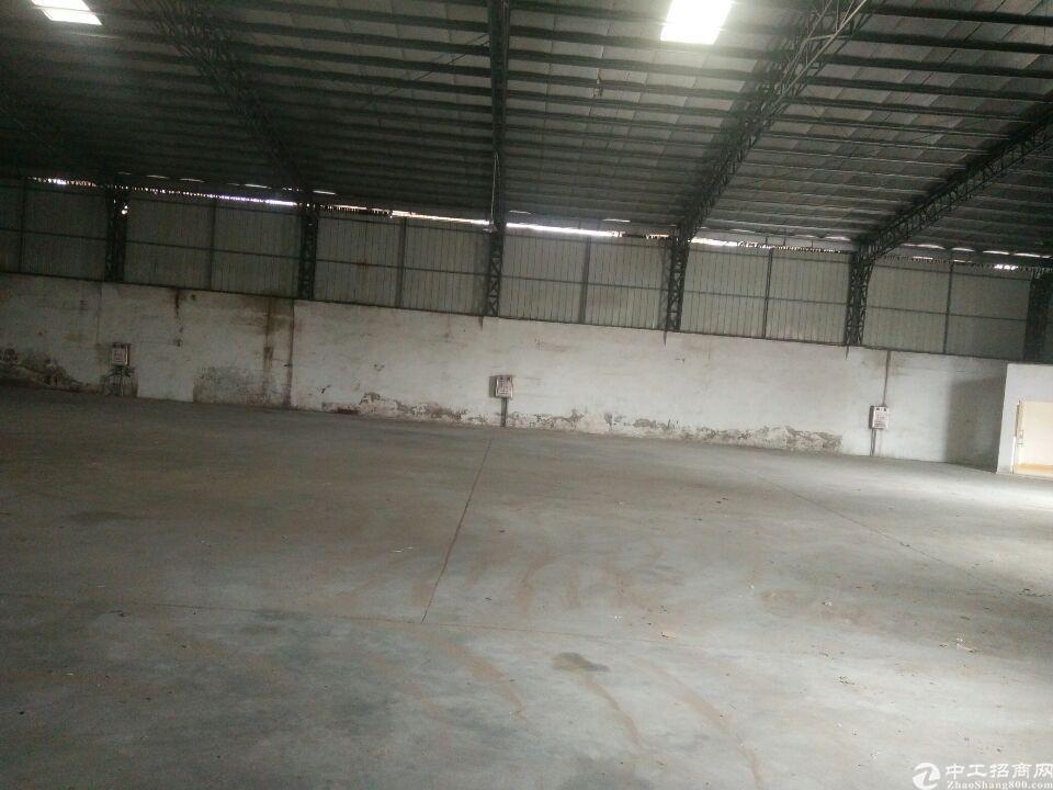 中堂镇新出独栋厂房出租,4200方,可进货柜车,滴水9米