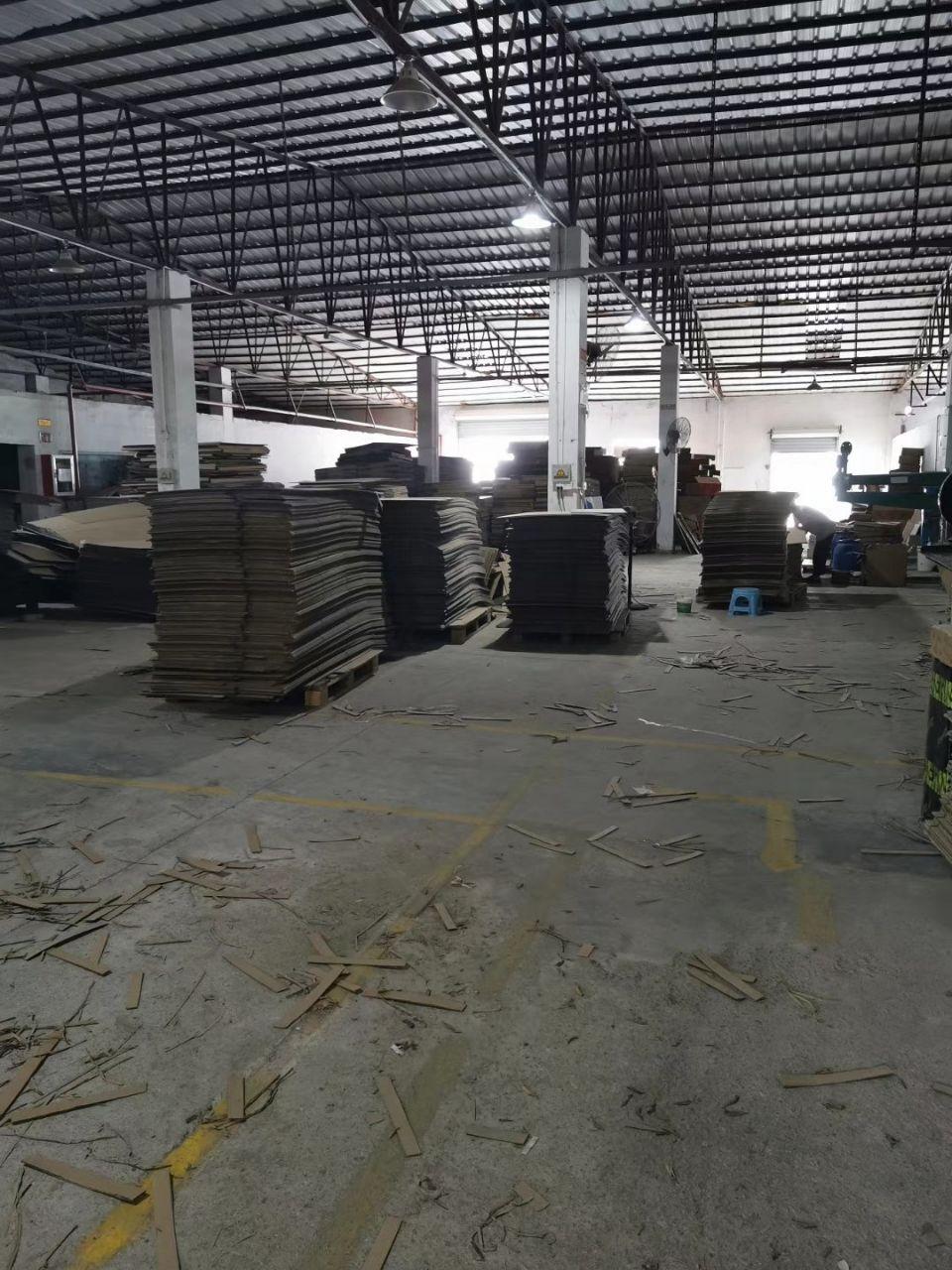 茶山镇新出一楼钢构厂房,实际面积1500平出租