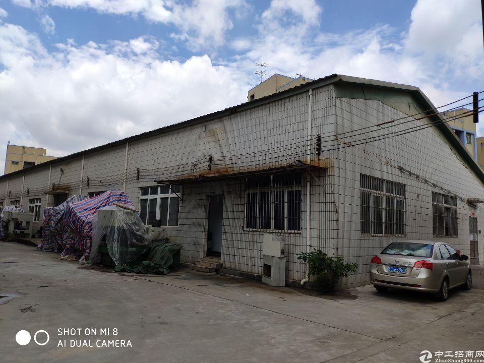 东坑镇中心800平米铁皮仓库出租