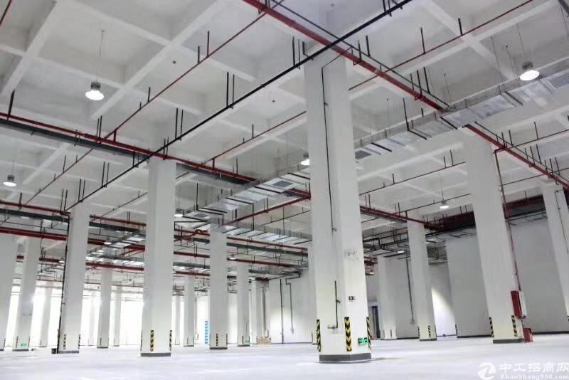 涌靠黄埔新出全新钢结构物流仓8000平,证件齐全,丙2类消,