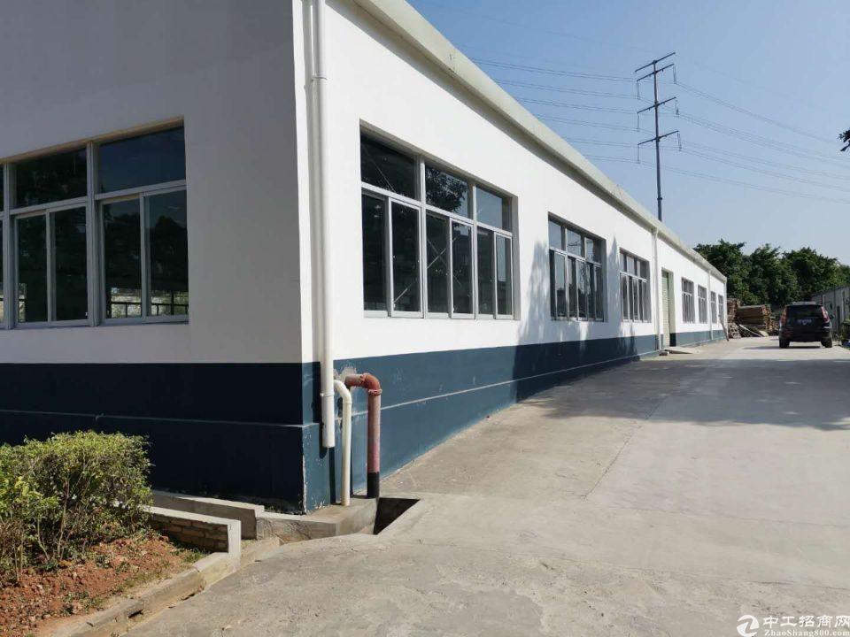 黄埔经济开发区永和新出800平单一层钢构,可分租。