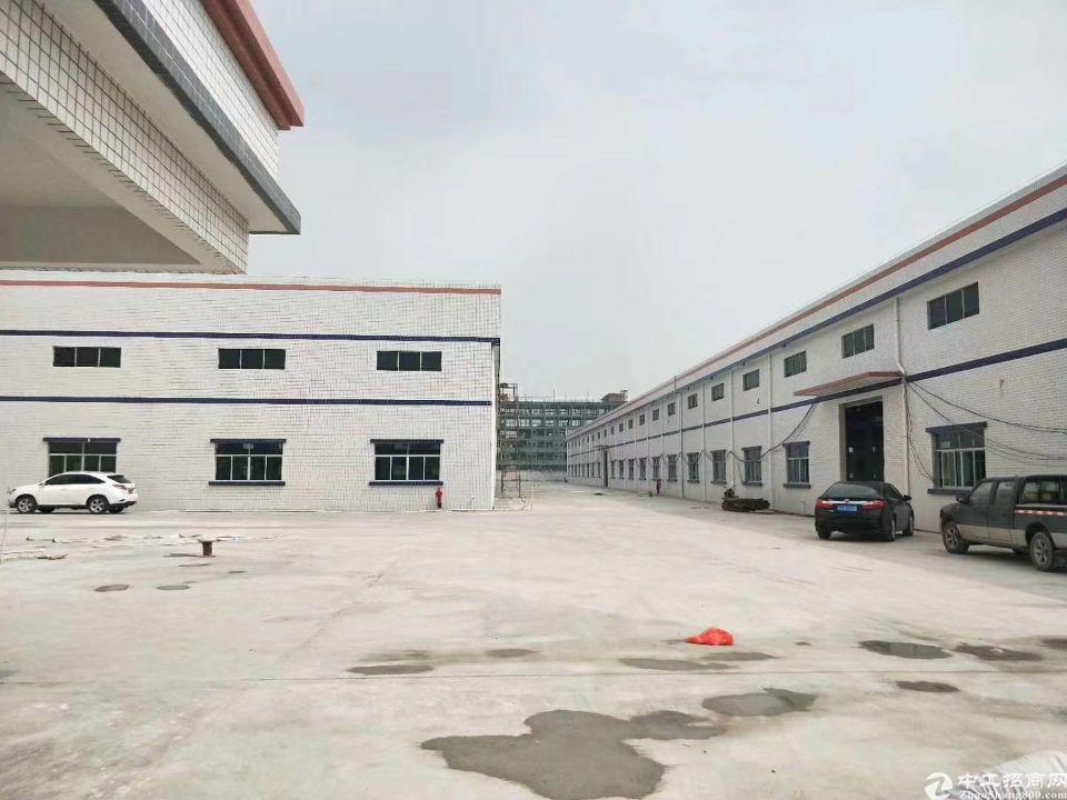 惠阳秋长8500平钢构独院厂房出售