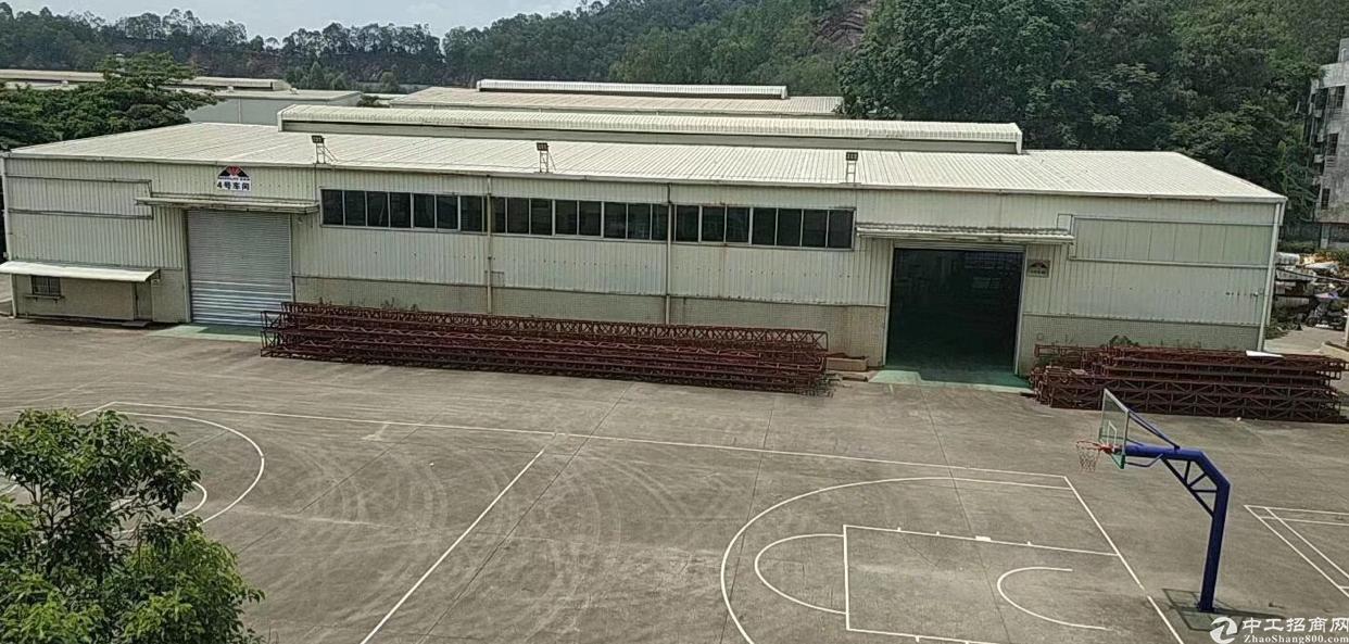 惠城区工业园滴水8米钢结构厂房7100平可分租