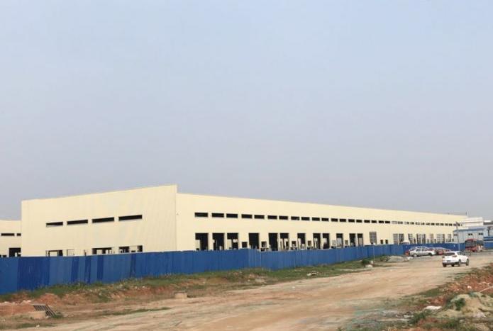 靠高速花都区镜湖工业2万平钢构物流高标仓库厂房出租500分租