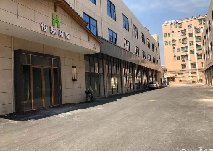 福永会展中心精装修写字楼300平方,做好隔间图片3