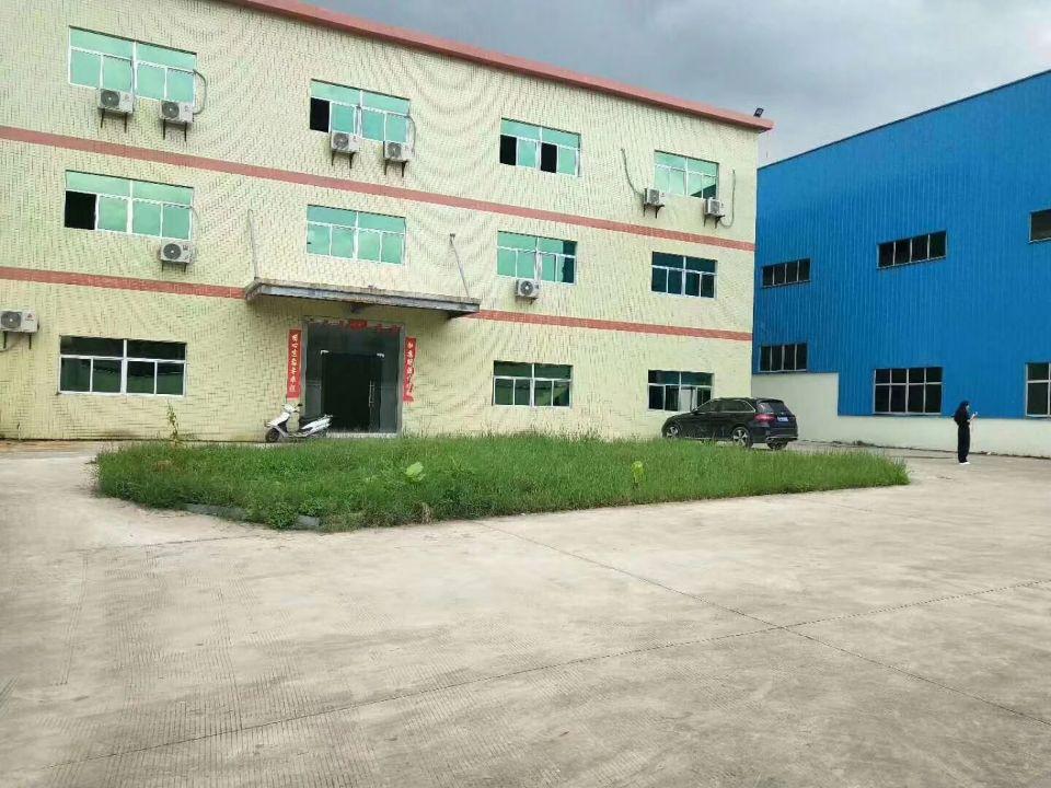企石镇 独院钢构厂房4620平方,办公室豪华装修,办公室