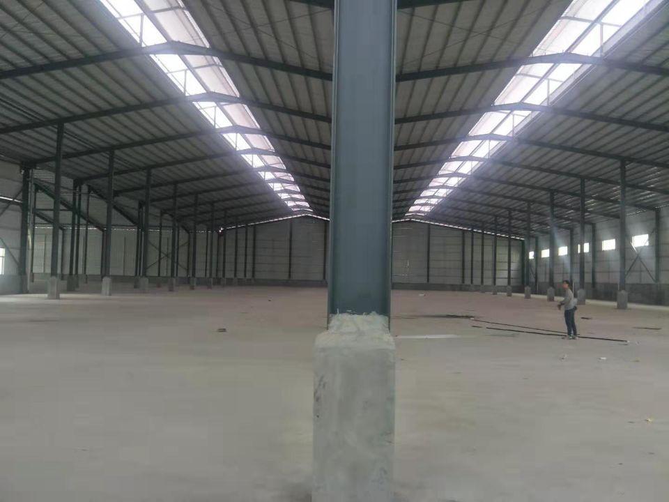 洪梅镇独院单一层钢构厂房12800平高9米环评好办交通方便