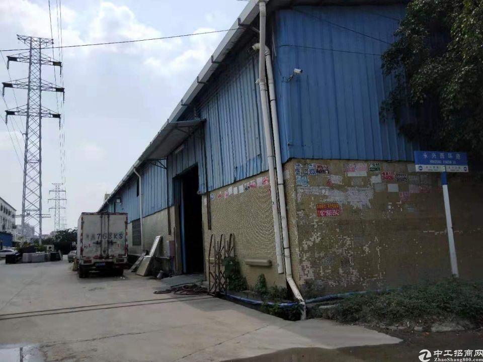 太和镇永兴新出独院单一层滴水8米厂房出租空地2000平米