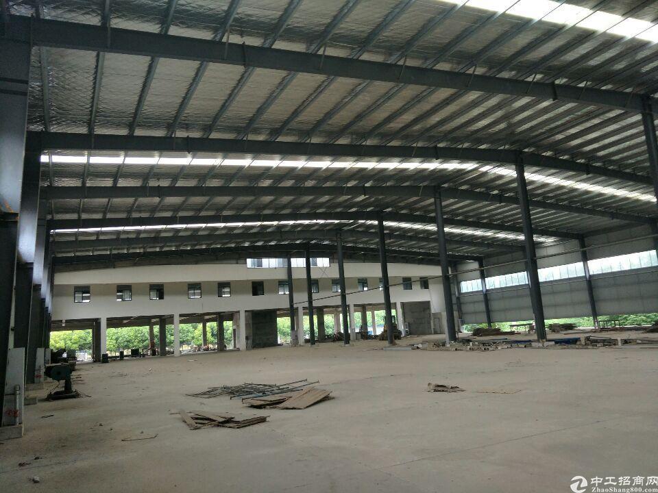 阳逻厂房6000平米,独栋,带行轨,配套宿舍食堂办公