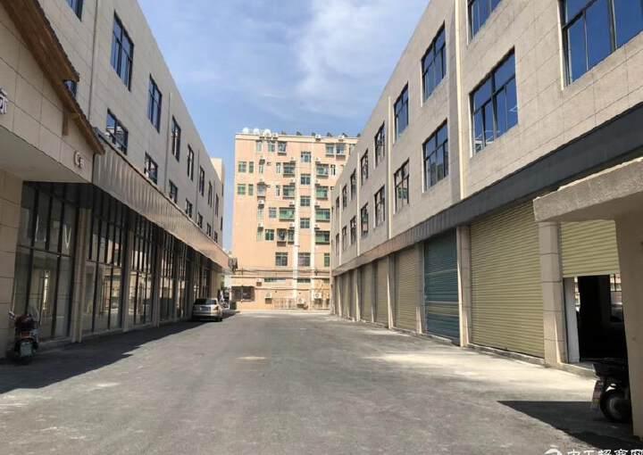 福永会展中心精装修写字楼300平方,做好隔间图片1