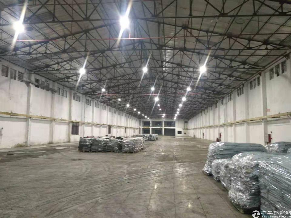 洪梅原房东独门独院单一层钢构厂房8500平高9米