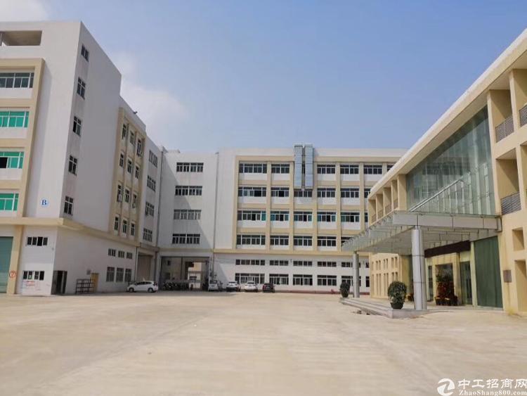 临深清溪占地12000平建筑12000平漂亮国有厂房出售