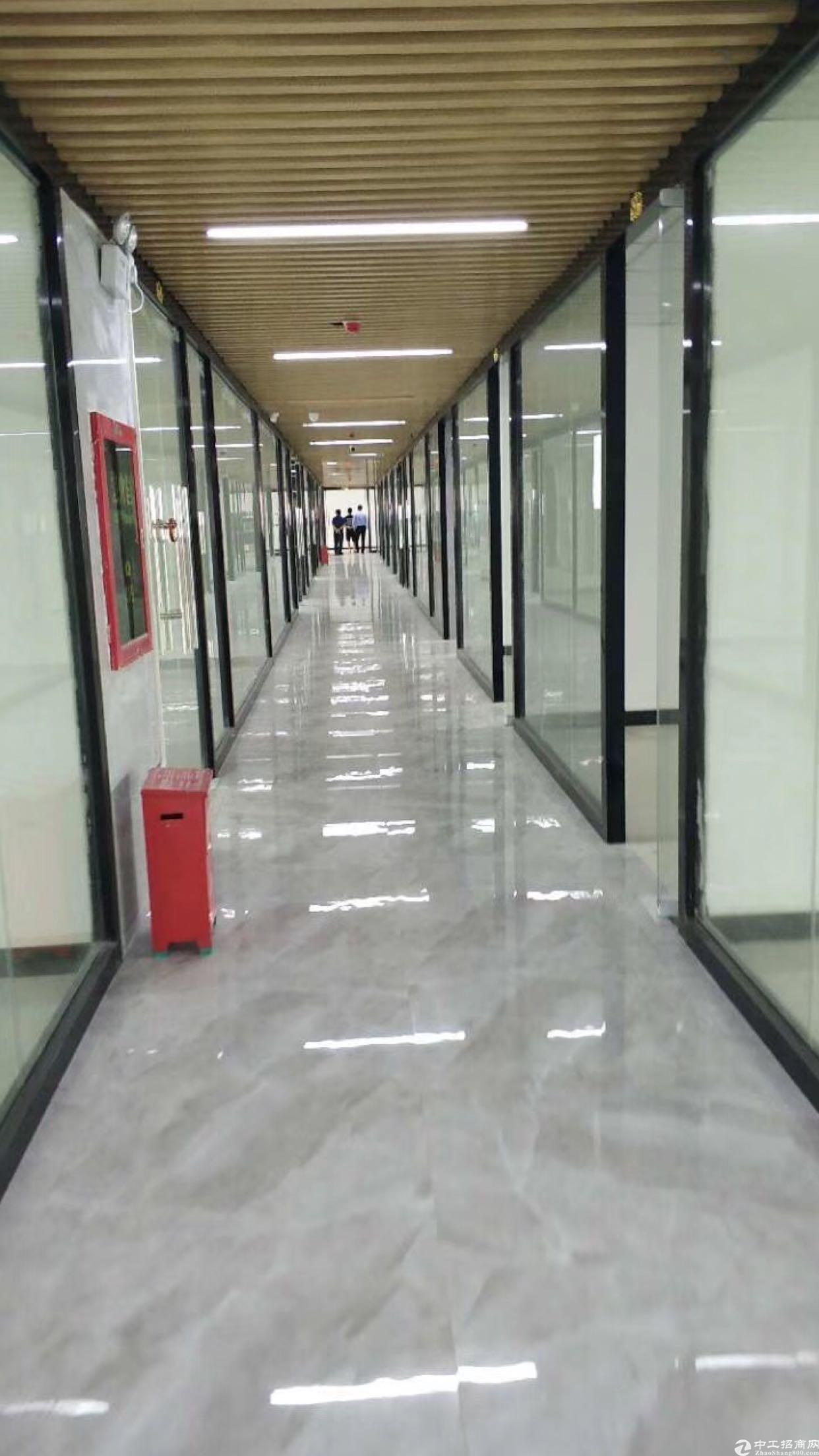 龙岗南联厂房办公室出租500平有精装修红本