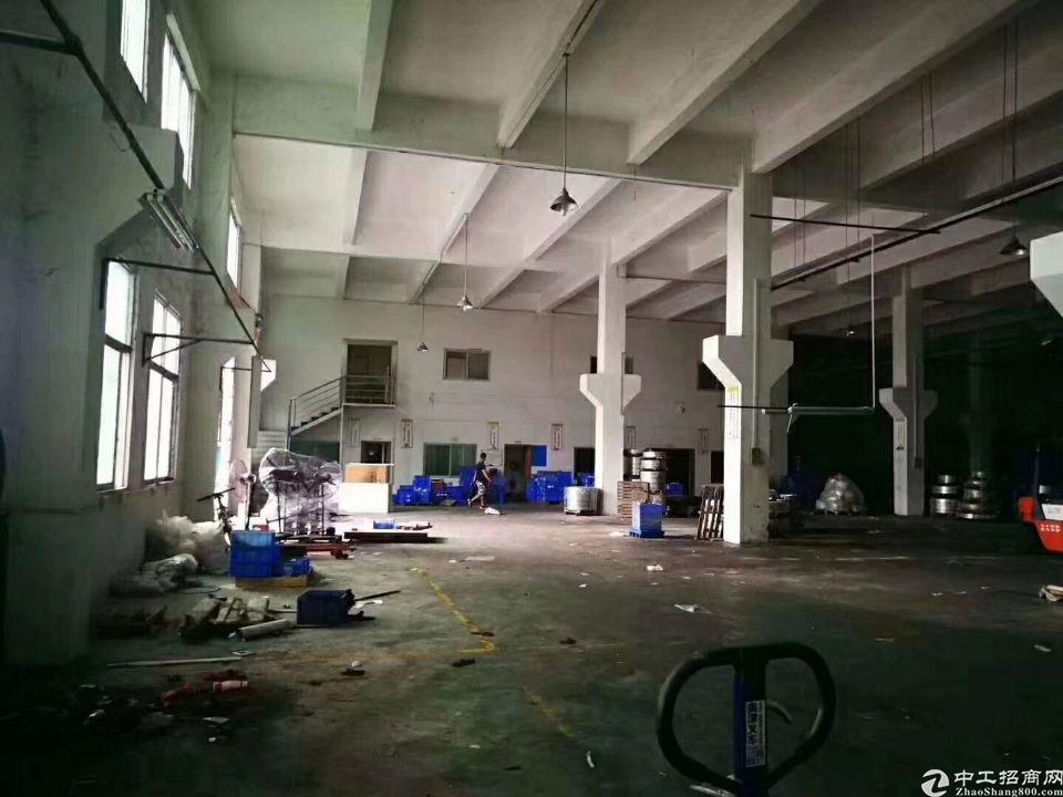 清溪7米带牛腿标准厂房一楼1950平出租-图4