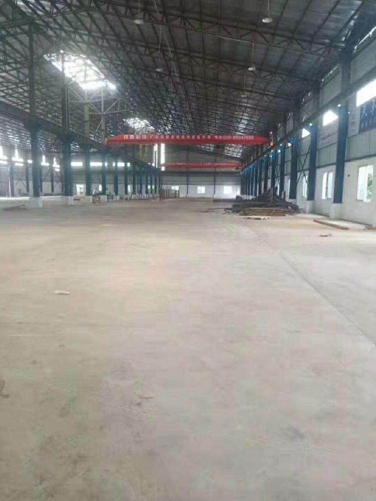 独门独院单一层钢构厂房6000平方位于主干道旁
